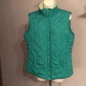 🌺3for $18🌺Coldwater Creek Quilted Womens Vest- L